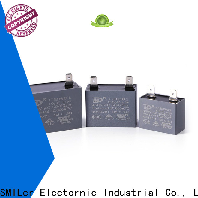 Custom air conditioner motor run capacitor condenser manufacturers for dryer machine