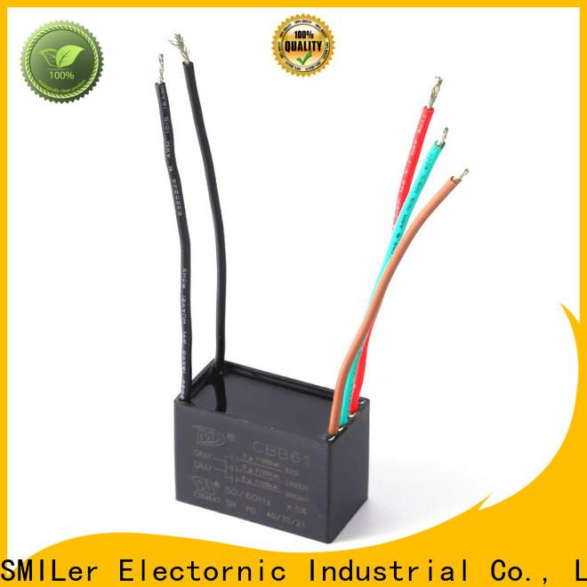 SMiLer Top polypropylene film capacitor manufacturers for bike