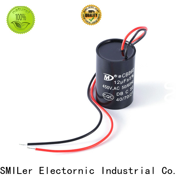 SMiLer New 7.5 mfd 370v capacitor for business for air conditioner