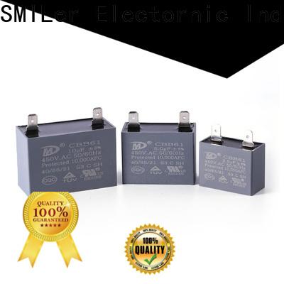 SMiLer running 2 hp motor capacitor supply for fan