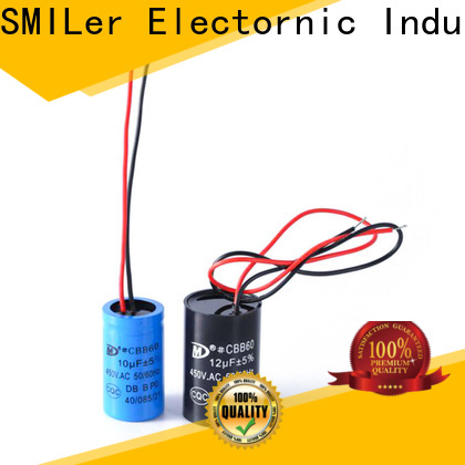 SMiLer Custom buy motor run capacitor factory for electric car