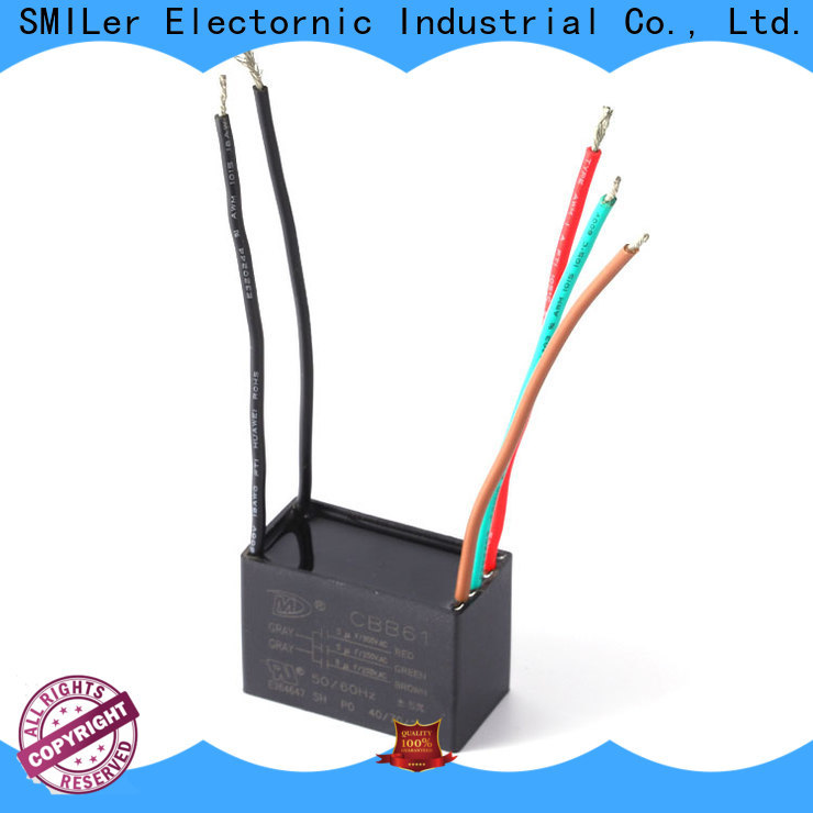 SMiLer ventilating 3 wire capacitor for business for bike