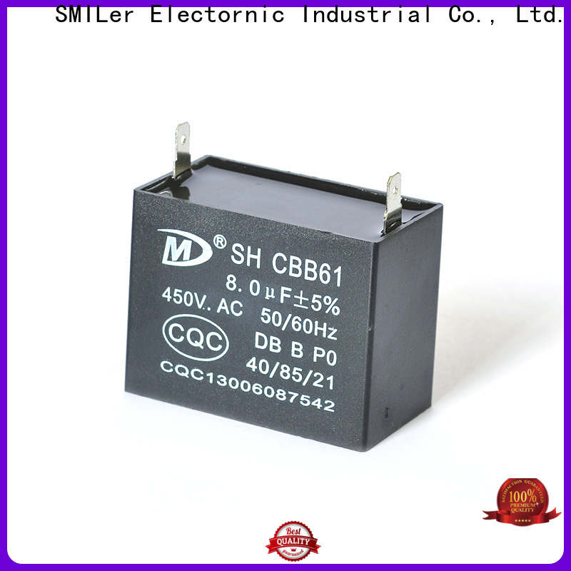 Latest hvac motor capacitor capacitors factory for electric car