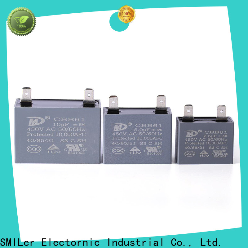 Wholesale dual start capacitor run manufacturers for rv air conditioner