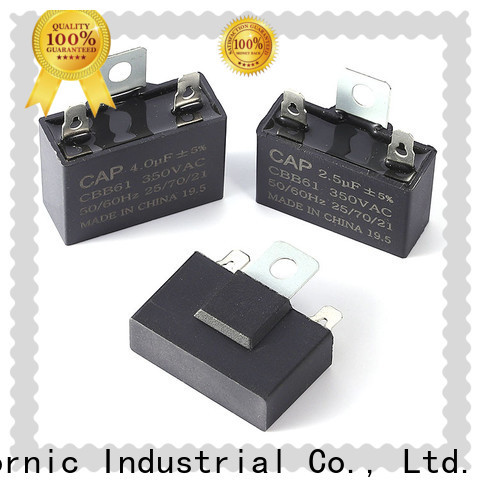 Custom 3 wire capacitor ac factory for dryer machine