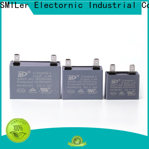 SMiLer Best ac compressor start capacitor factory for rv air conditioner