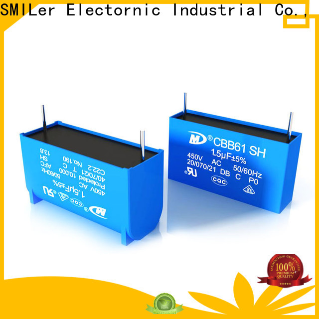 SMiLer smoke z5u capacitor suppliers for rv air conditioner
