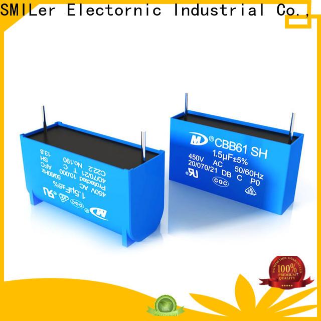 SMiLer smoke z5u capacitor suppliers for rv air conditioner