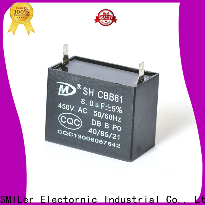 Latest electric motor run capacitor bread suppliers for electric car