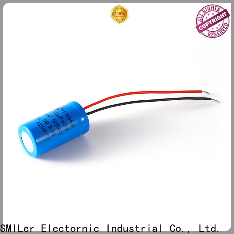 SMiLer motor safety capacitor supply for motor