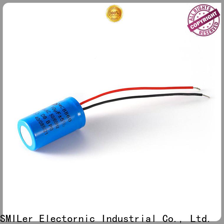 SMiLer motor safety capacitor supply for motor