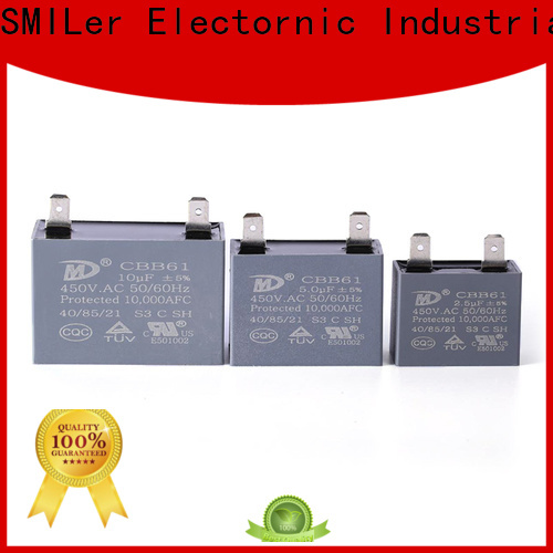 SMiLer New motor capacitors suppliers company for ac unit