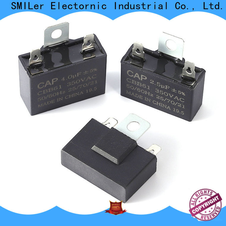 Wholesale electric motor capacitor replacement paper for business for fan
