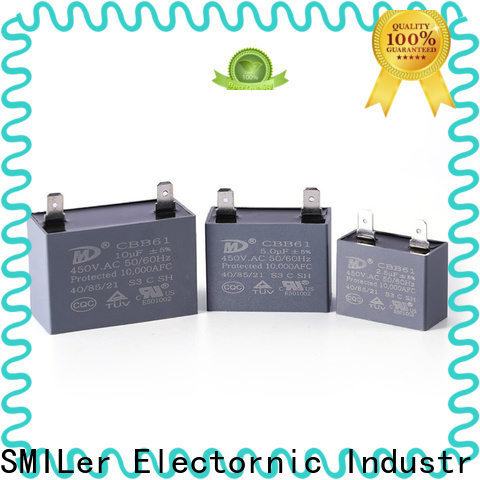 SMiLer running capacitor for 1.5 hp motor company for fan