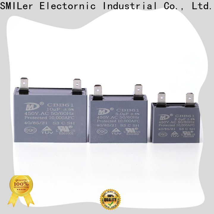 SMiLer motor capacitor for ac unit for sale supply for ac unit