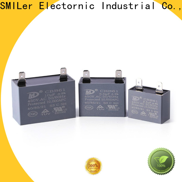 SMiLer Custom aircon capacitor factory for dryer machine