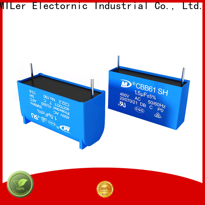 Latest 100 microfarad capacitor pin suppliers for fan