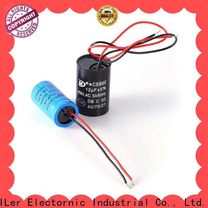 Top motor condenser capacitor electric supply for electric car