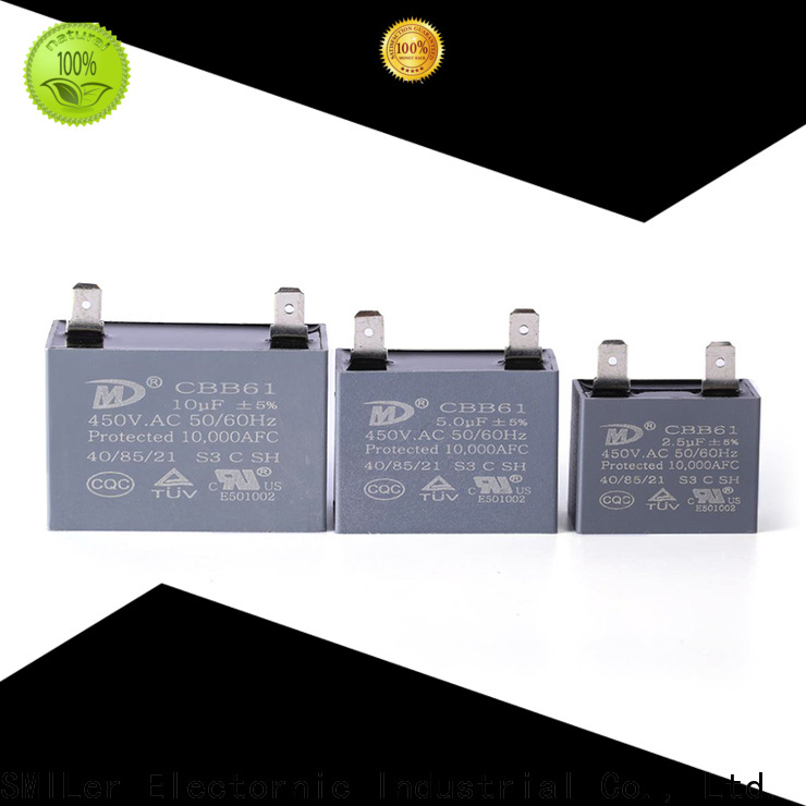 SMiLer Custom facon capacitor distributors supply for rv air conditioner