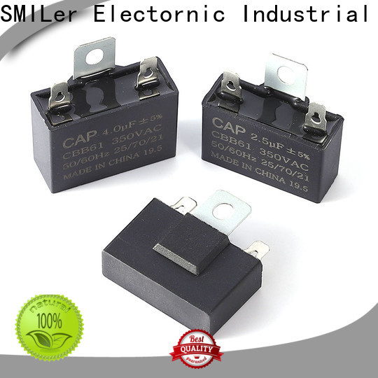 SMiLer Wholesale high voltage capacitors for sale company for fan