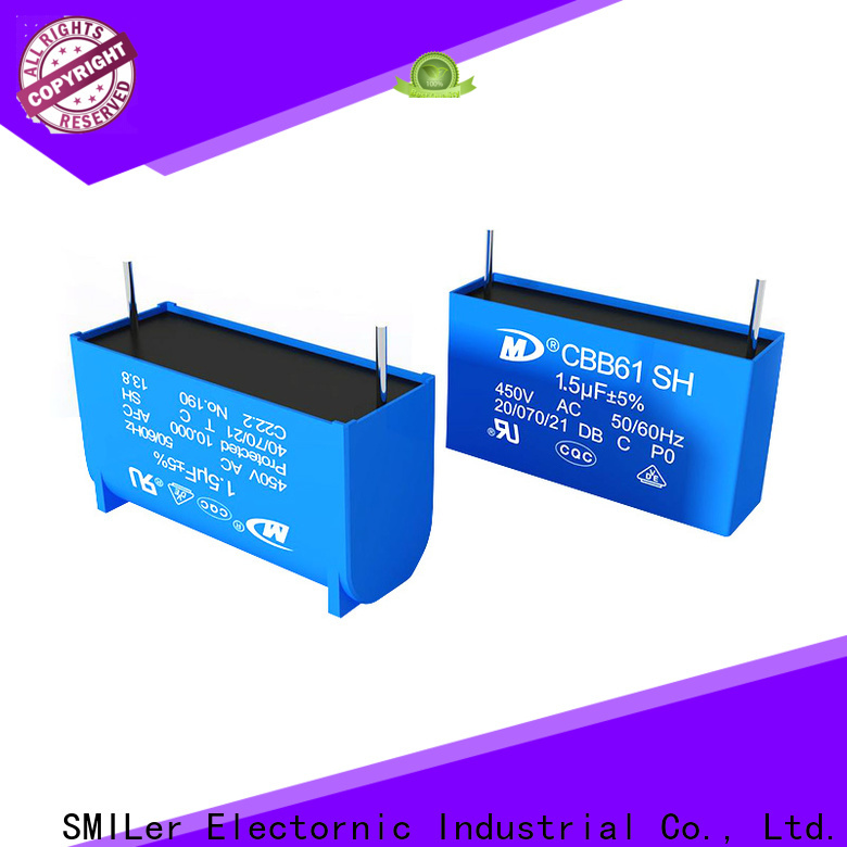 SMiLer High-quality disk capacitor factory for motor