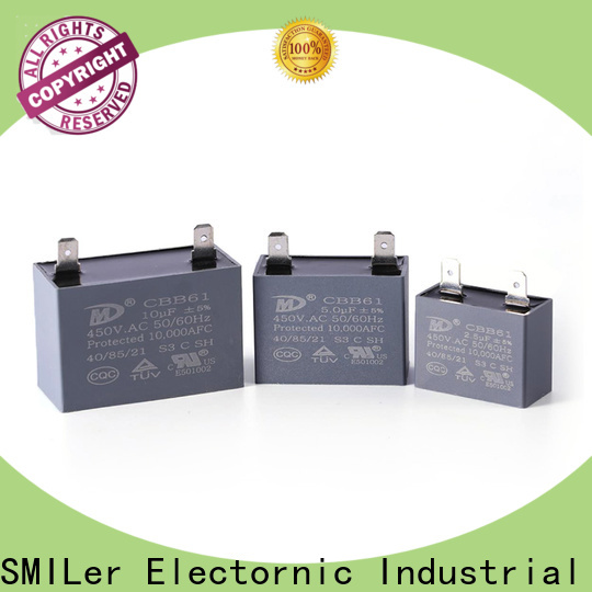 SMiLer running capacitor 50uf for business for electric car