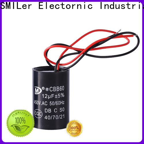 SMiLer starter 5 ton ac capacitor suppliers for fan