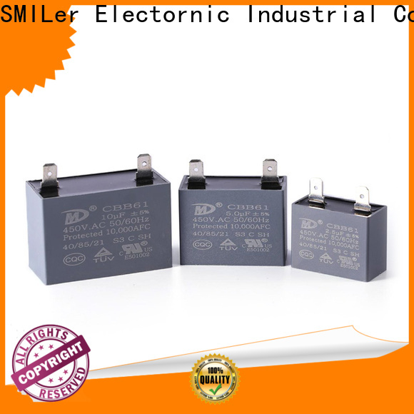 Latest light capacitor counting factory for fan
