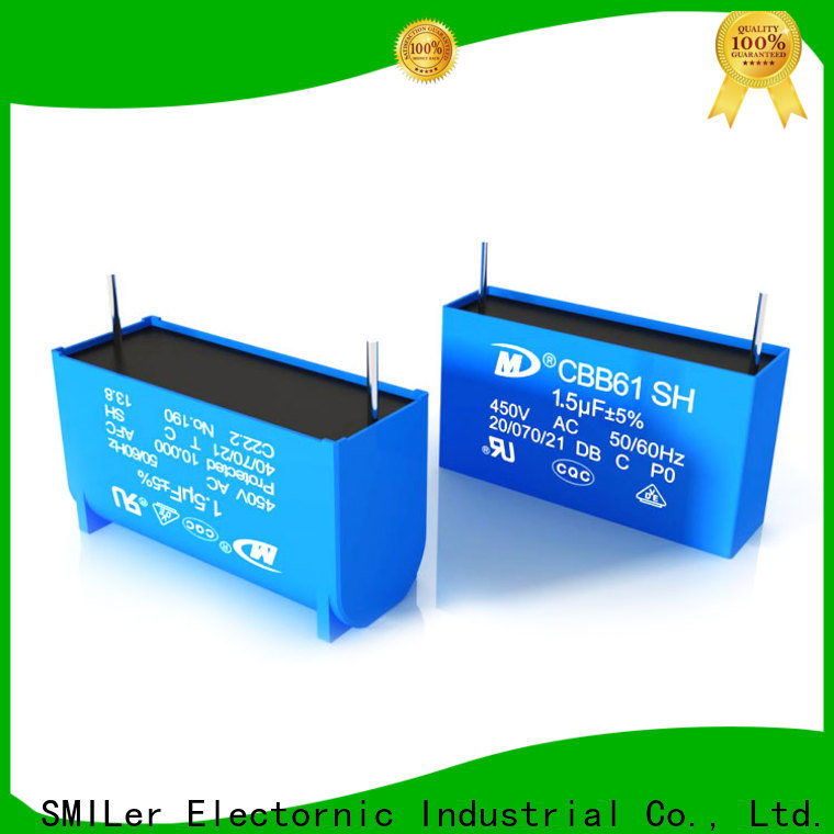 SMiLer New furnace capacitor suppliers for ceiling fan