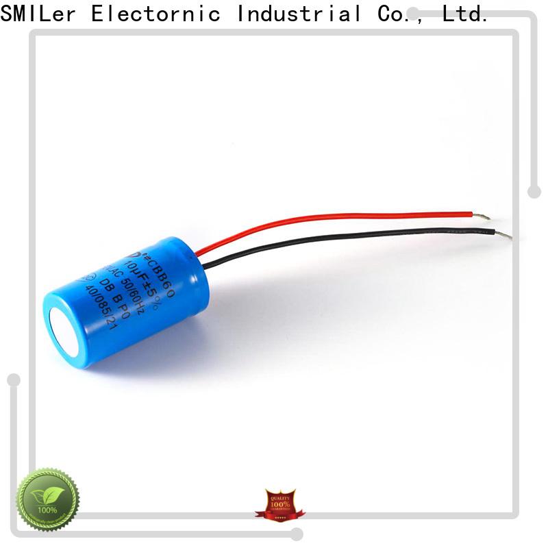 SMiLer dishwashing marcon capacitor distributors suppliers for motor