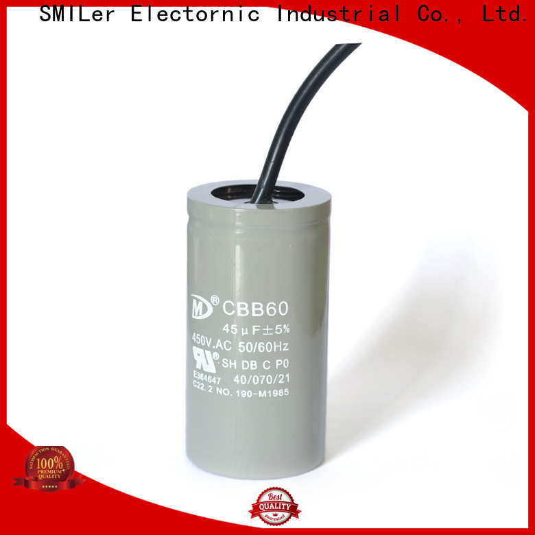 SMiLer Wholesale power factor capacitor supply for industrial