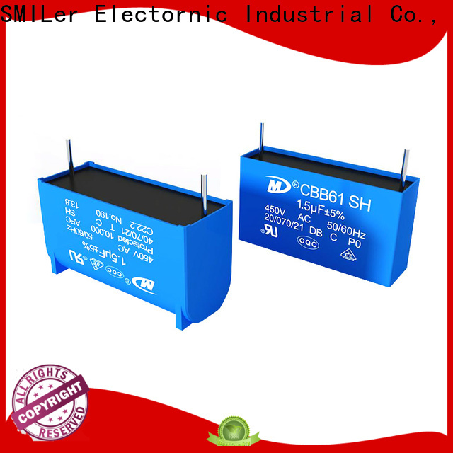 Top capacitor connected to ground price manufacturers for fan