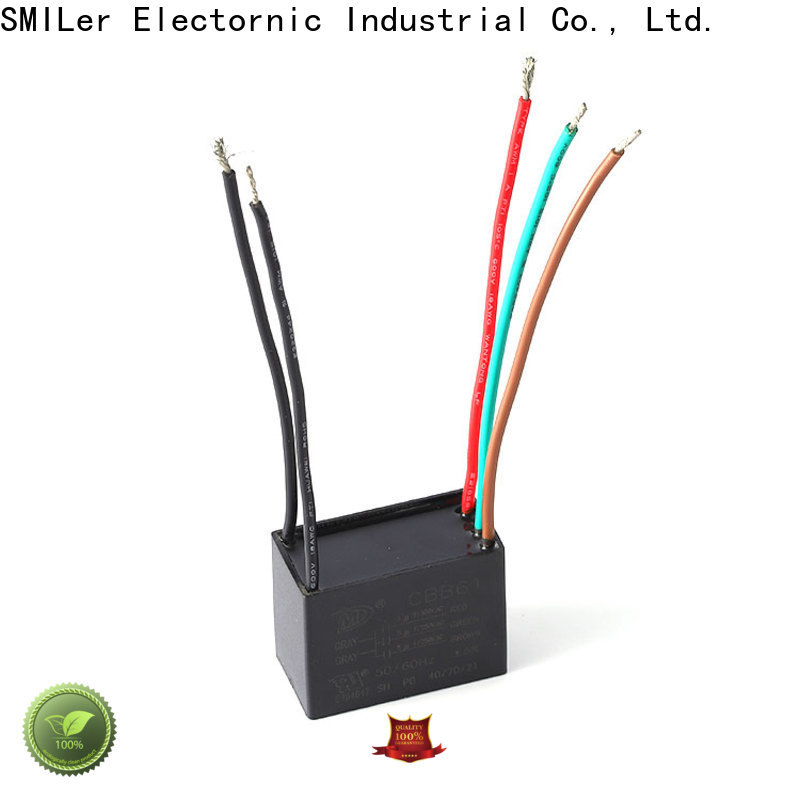 SMiLer smoke air conditioner capacitors for sale manufacturers for ceiling fan