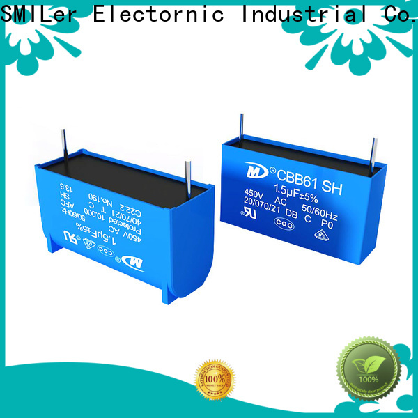 SMiLer Latest capacitor store near me manufacturers for motor