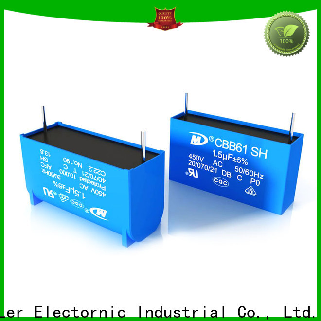 SMiLer New radial capacitor suppliers for rv air conditioner