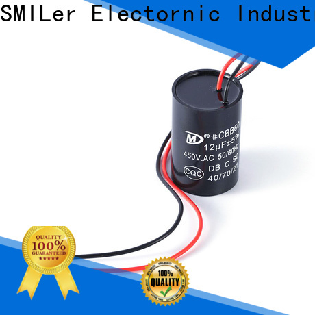 Custom testing motor capacitor motor supply for home use