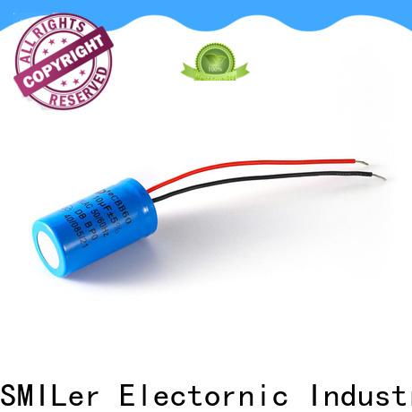 SMiLer motor digital power capacitor suppliers for motor