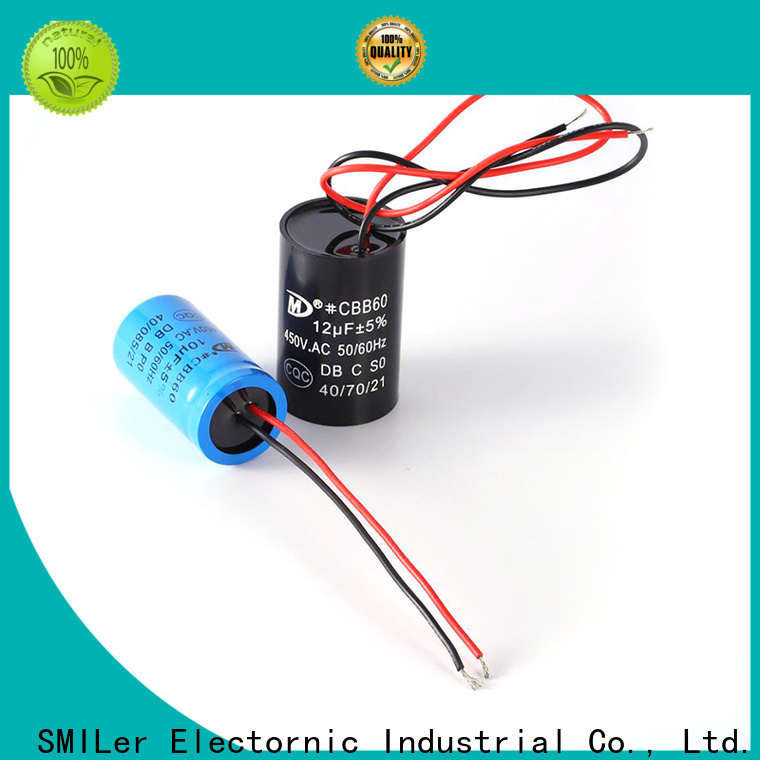 SMiLer Wholesale changing ac capacitor factory for dryer machine