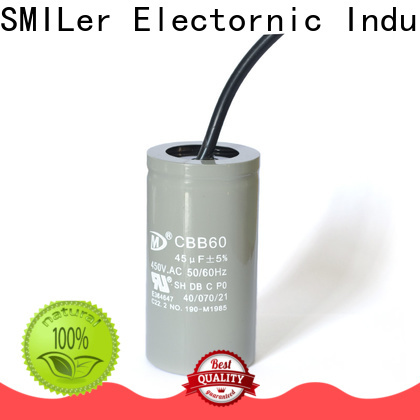 SMiLer Custom ac outdoor unit capacitor suppliers for motor