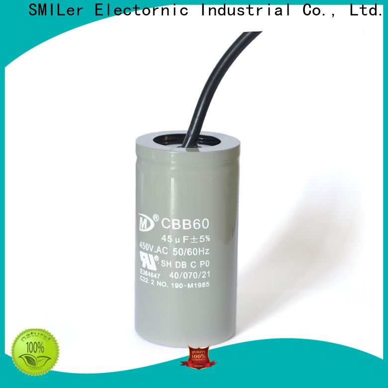 SMiLer Custom ballast capacitor suppliers for industrial