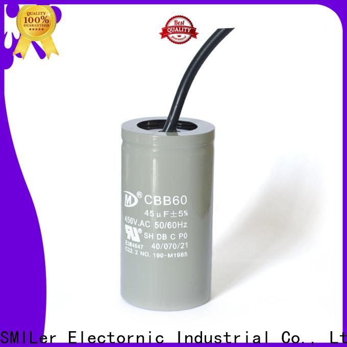 New audio grade capacitors motor factory for industrial