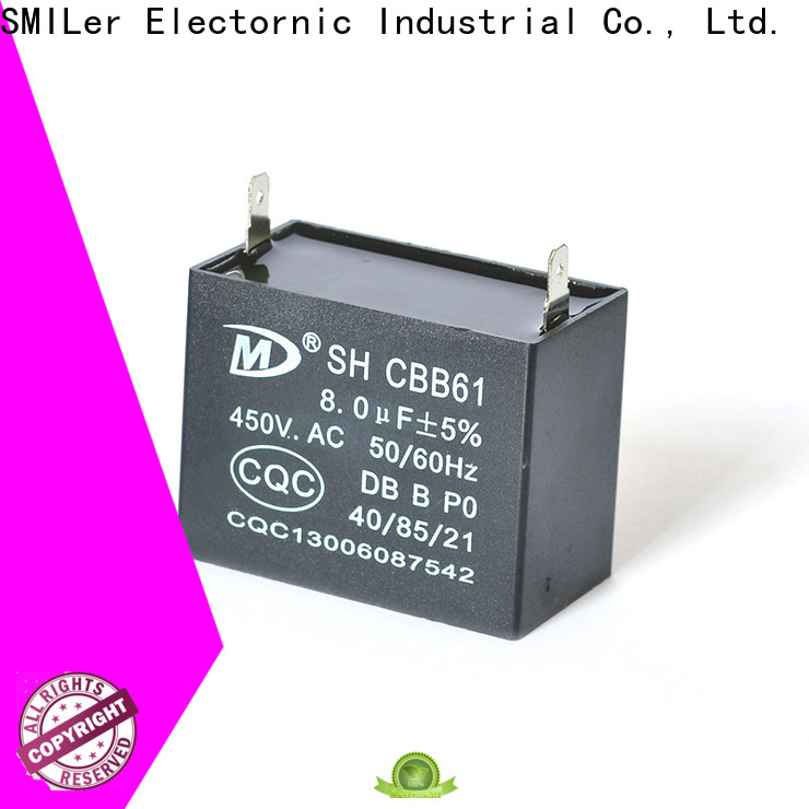SMiLer Top ac blower capacitor manufacturers for furnace