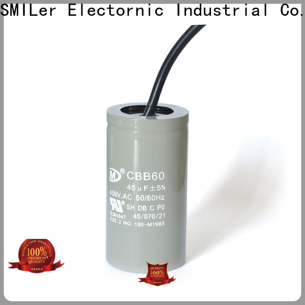 SMiLer capacitor motor capacitor wiring factory for home use