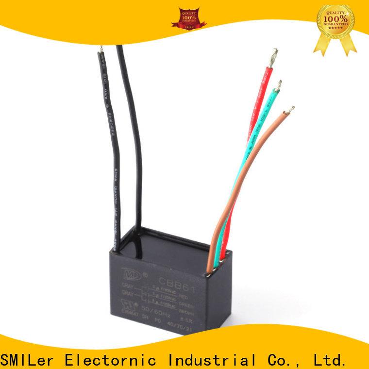 SMiLer smoke 100v capacitor manufacturers for ac unit