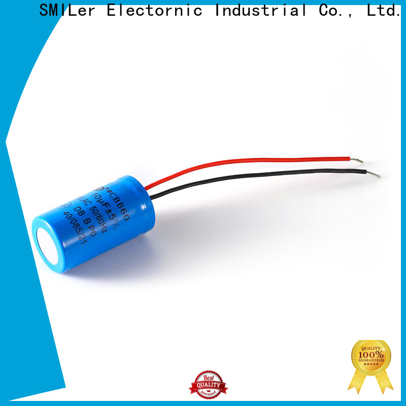 Latest disk capacitor polarity factory for dual machine motor