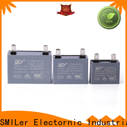 SMiLer Latest ceiling fan capacitor online suppliers for bike