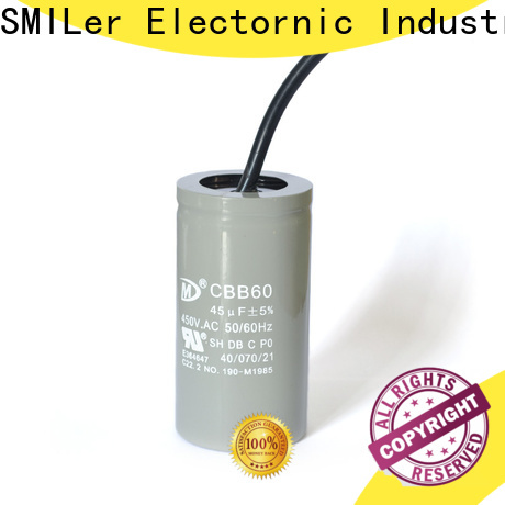 SMiLer running carrier heat pump capacitor suppliers for industrial