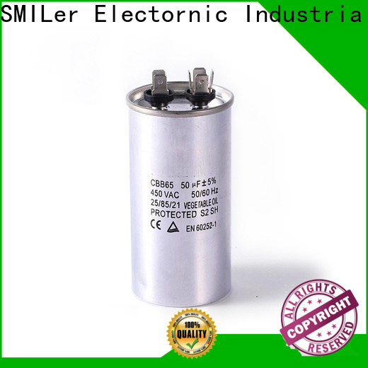 SMiLer Top buy run capacitor air conditioner company for carrier