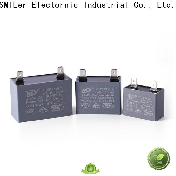 SMiLer Wholesale black gate capacitors supply for furnace