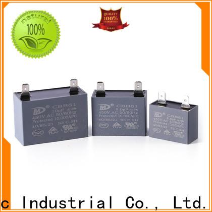 SMiLer New fan motor capacitor factory for dryer machine